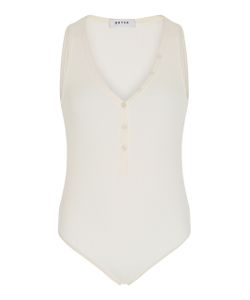 Getting Back To Square One   Stretch-Jersey Bodysuit