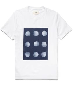 Folk   Printed Cotton-Jersey T-Shirt