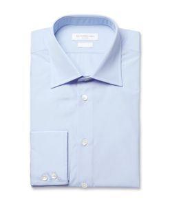 Richard James | Blue Cotton-Poplin Shirt Blue