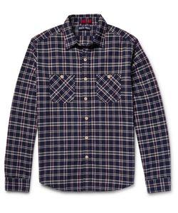 Alex Mill | Checked Cotton-Flannel Shirt Blue