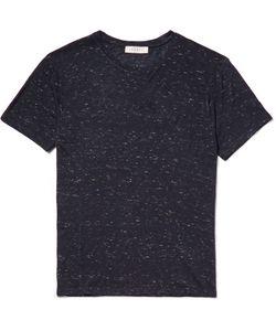 Sandro | Slub Jersey T-Shirt Blue