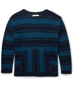 Outerknown | Lost Horizon Organic Cotton And Baby Alpaca-Blend Sweater Blue