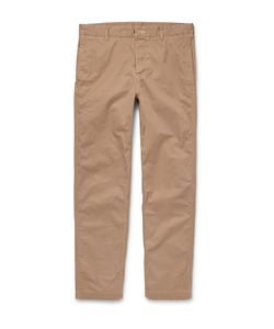 Outerknown | Playa Organic Cotton-Twill Trousers Neutrals