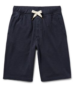 Alex Mill | Garment-Dyed Loopback Cotton-Jersey Shorts Blue