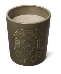 Diptyque | Feu De Bois Indoor Outdoor Scented Candle 1500g Purple