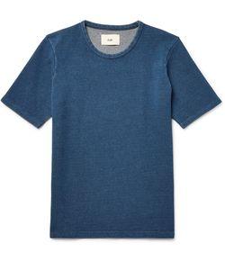 Folk   Slim-Fit Knitted Cotton T-Shirt