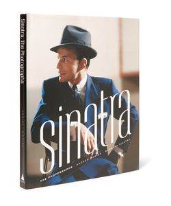 Abrams | Sinatra The Photographs Hardcover Book Blue
