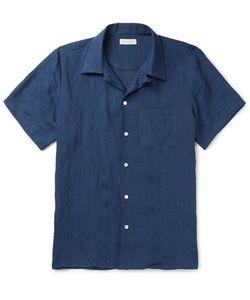Richard James | Camp-Collar Linen Shirt