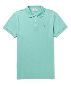 Maison Kitsuné | Cotton-Piqué Polo Shirt