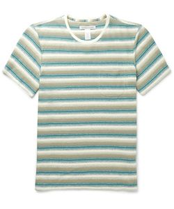 Outerknown | Striped Hemp And Organic Cotton-Blend Jersey T-Shirt