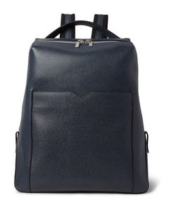 Valextra | Pebble-Grain Leather Backpack