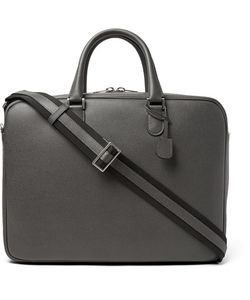 Valextra | Soft Avietta Full-Grain Leather Briefcase