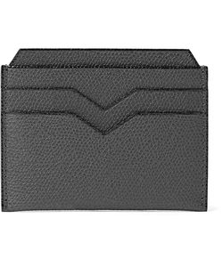 Valextra | Pebble-Grain Leather Cardholder