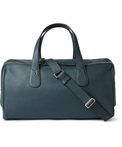 Valextra | Cabina Pebble-Grain Leather Holdall