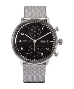 Junghans | Max Bill Chronoscope Stainless Steel Watch