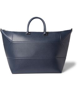 Valextra | Pebble-Grain Leather Holdall