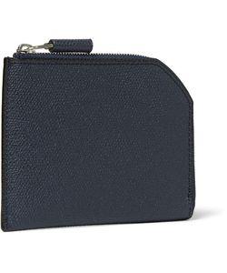 Valextra | Pebble-Grain Leather Wallet