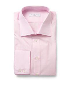 Richard James | Pink Cotton-Poplin Shirt