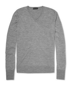 John Smedley | John Medley Bobby Merino Wool V-Neck Weater
