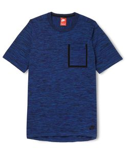 Nike   Lim-Fit Knitted Cotton-Blend T-Hirt