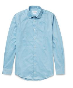 Richard James | Slim-Fit Cotton-Twill Shirt