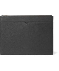 Valextra | Grained-Leather Document Holder