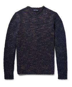 Alex Mill | Aex Mi Macho Méange Woo-Bend Sweater Storm Bue