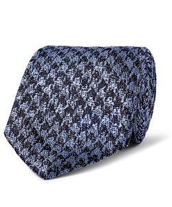 Richard James | 7.5cm Houndstooth Silk Tie