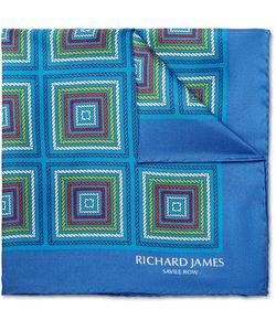Richard James | Printed Silk-Twill Pocket Square