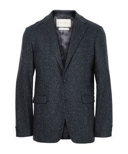 Casely-Hayford | Blue Titus Slim-Fit Unstructured Slub Wool-Blend Suit Jacket
