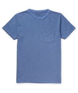 Hartford | Striped Cotton-Jersey T-Shirt