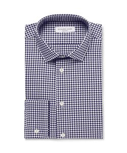 Richard James | Slim-Fit Houndstooth Cotton Shirt
