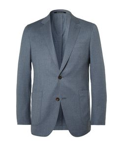 Richard James | Blue Slim-Fit Super 110s Wool Blazer Light