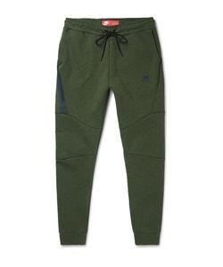 Nike   Tapered Cotton-Bend Tech Feece Sweatpants