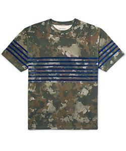 Casely-Hayford | Casey-Hayford Raine Focked Camoufage-Print Cotton-Jersey T-Shirt