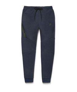 Nike   Tapered Cotton-Blend Tech Fleece Sweatpants