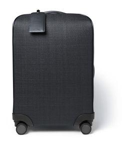Ermenegildo Zegna | Pelle Tessuta Leather Trolley Case