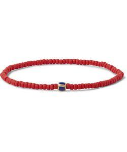 Luis Morais | Gold Bead And Enamel Bracelet