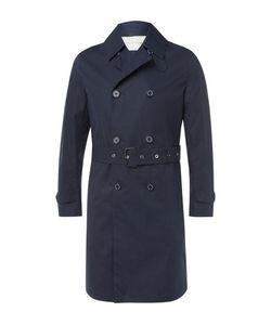 Mackintosh | Slim-Fit Belted Bonded-Cotton Raincoat