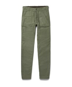 Aspesi | Cotton-Twill Trousers