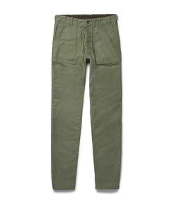 Aspesi | Cotton-Twill Trousers