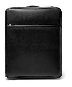 Valextra | Pebble-Grain Leather Carry-On Case