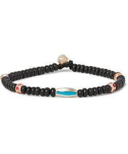 Luis Morais | Gold Enamelled Bead Bracelet