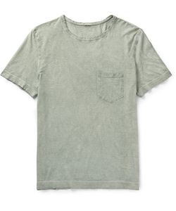 Massimo Alba | Panarea Lim-Fit Garment-Dyed Cotton-Jerey T-Hirt