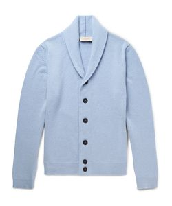 John Smedley | Patteron Lim-Fit Hawl-Collar Merino Wool And Cahmere-Blend Cardigan