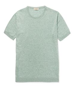 John Smedley | Tonewell Lim-Fit Ea Iland Cotton And Cahmere-Blend T-Hirt