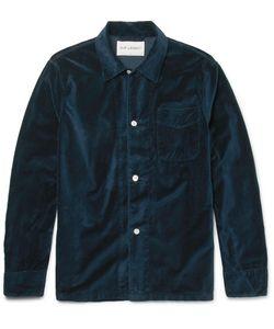 Our Legacy | Cotton-Velvet Overshirt