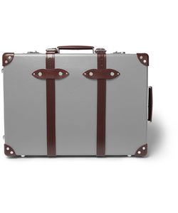Globe-Trotter   21 Leather-Trimmed Trolley Case