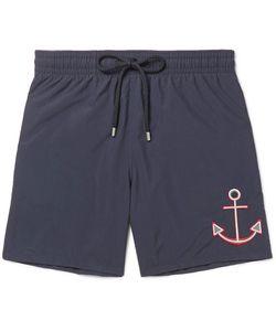 Vilebrequin | Otu Id-Length Ebroidered Swi Shorts