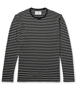 Folk   Striped Cotton-Jersey T-Shirt